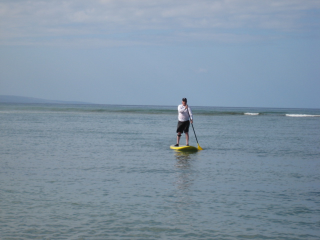 Hooked sup alex aguera design kiteboarding surfboards for Fly fishing maui
